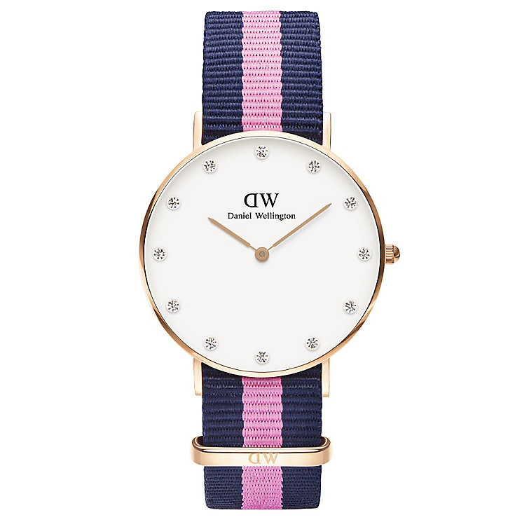 Daniel Wellington Classy Winchester Ladies' NATO Strap Watch - Product number 4901703