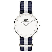 Daniel Wellington Classy Glasgow Ladies' NATO Strap Watch - Product number 4901754