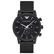 Emporio Armani Men's Ion Plated Bracelet Watch - Product number 4904206
