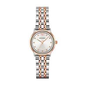 Emporio Armani Ladies' Two Colour Tone Bracelet Watch - Product number 4904265
