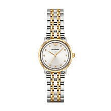Emporio Armani Ladies' Two Colour Bracelet Watch - Product number 4904273