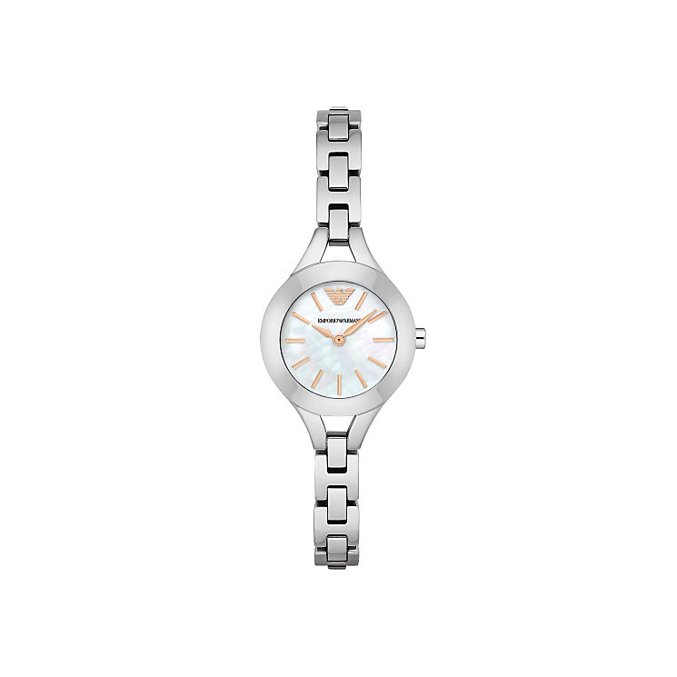 Emporio Armani Ladies' Stainless Steel Bracelet Watch - Product number 4904281