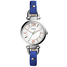 Fossil Georgia Ladies' Stainless Steel Strap Watch - Product number 4904362
