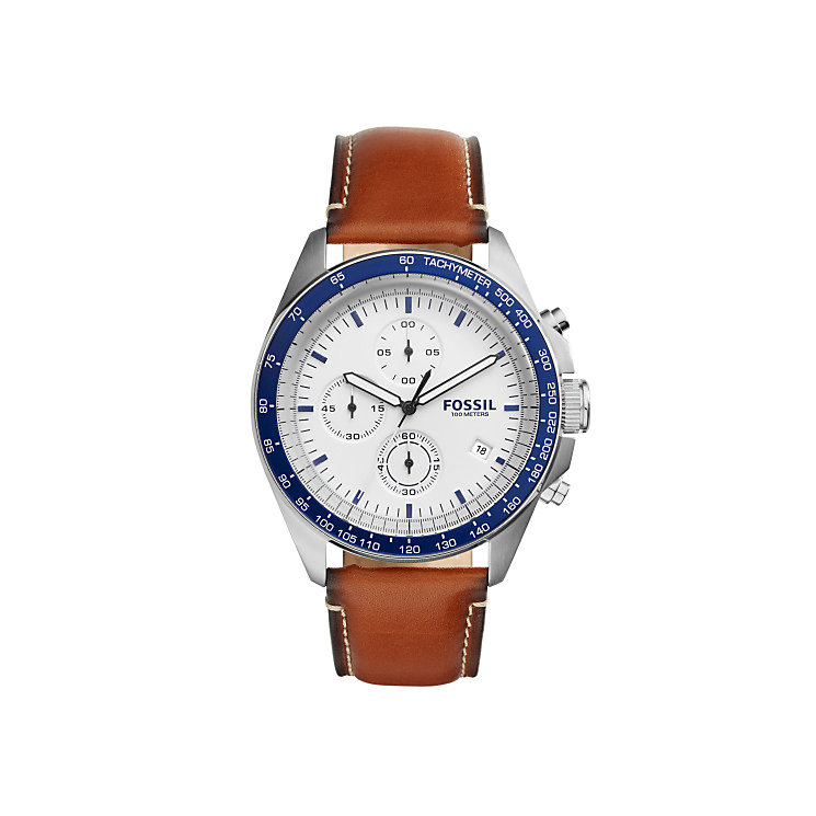 Fossil Men's Stainless Steel Strap Watch - Product number 4904397