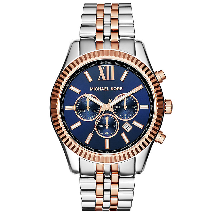 Michael Kors Men's Two Colour Bracelet Watch - Product number 4904761