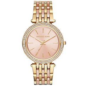 Michael Kors Ladies' Two Colour Strap Watch - Product number 4904885