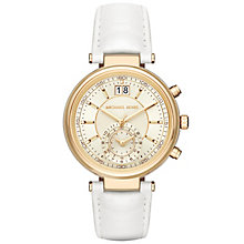 Michael Kors Ladies' Gold Tone Strap Watch - Product number 4904915