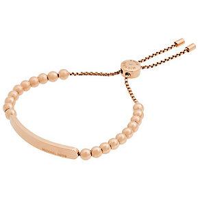 Michael Kors Rose Gold Tone Heritage Bracelet - Product number 4904966
