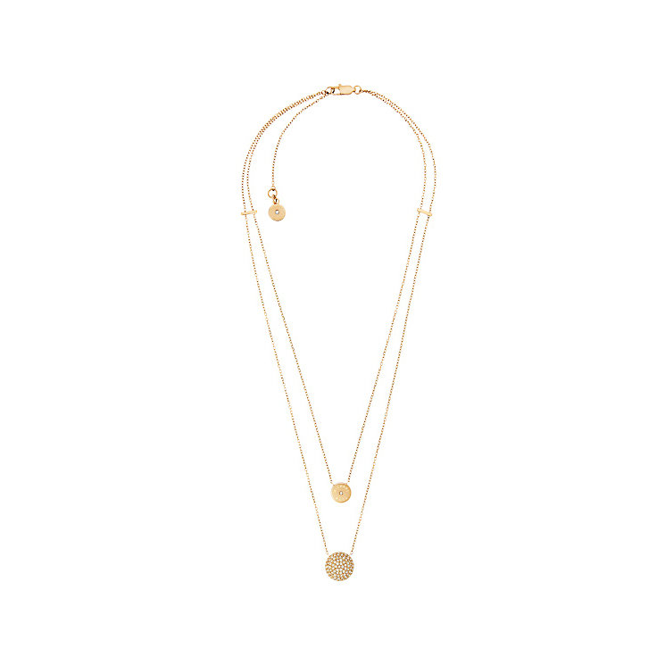 Michael Kors Gold Tone Stone Set Necklace - Product number 4907426