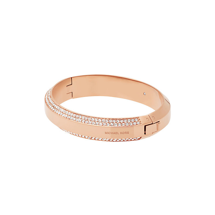 Michael Kors Rose Gold Tone Bangle - Product number 4907728