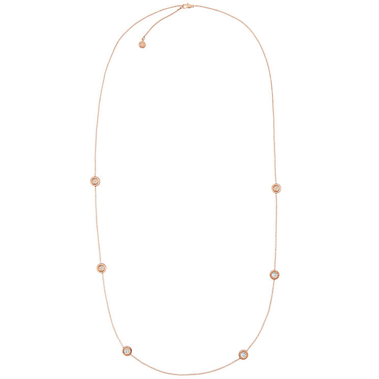 Michael Kors Rose Gold Tone Necklace - Product number 4908384