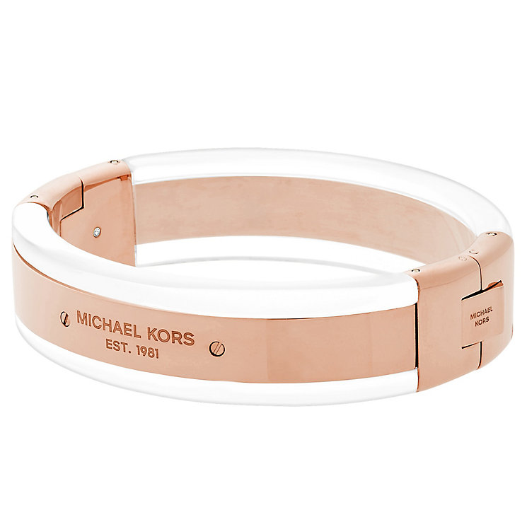 Michael Kors Rose Gold Tone Bangle - Product number 4908414