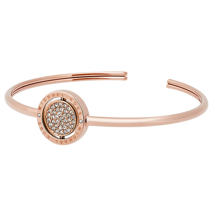 Michael Kors Double Spin Rose Gold Tone Bangle - Product number 4908570