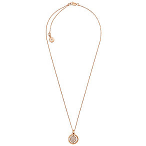 Michael Kors Double Spin Rose Gold Tone Necklace - Product number 4908694