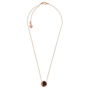 Michael Kors Rose Gold Tone Tortoiseshell Necklace - Product number 4908740