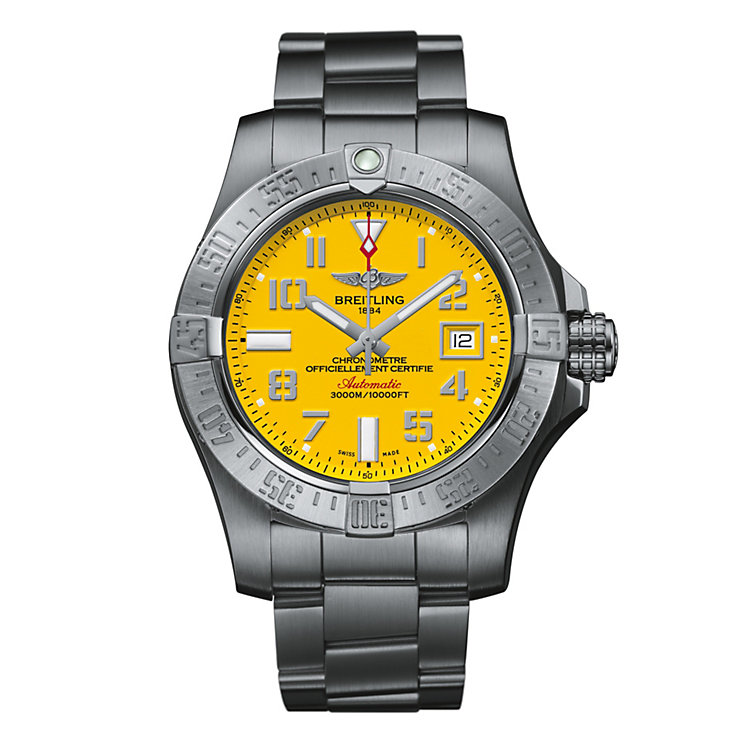 Breitling Avenger Seawolf Men's Stainless Steel Strap Watch - Product number 4909585