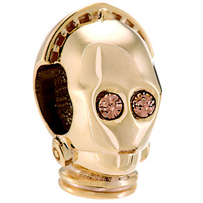 Chamilia Sterling Silver Star Wars Swarovski C3PO Charm Bead - Product number 4910516