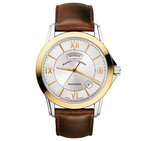 Maurice Lacroix Pontos mens two-colour automatic watch