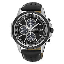 Seiko Solar Men's Two Colour Strap Watch - Product number 4912284