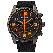 Seiko Men's Ion Plated Strap Watch - Product number 4912292