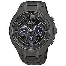 Seiko Men's Ion Plated Strap Watch - Product number 4912306