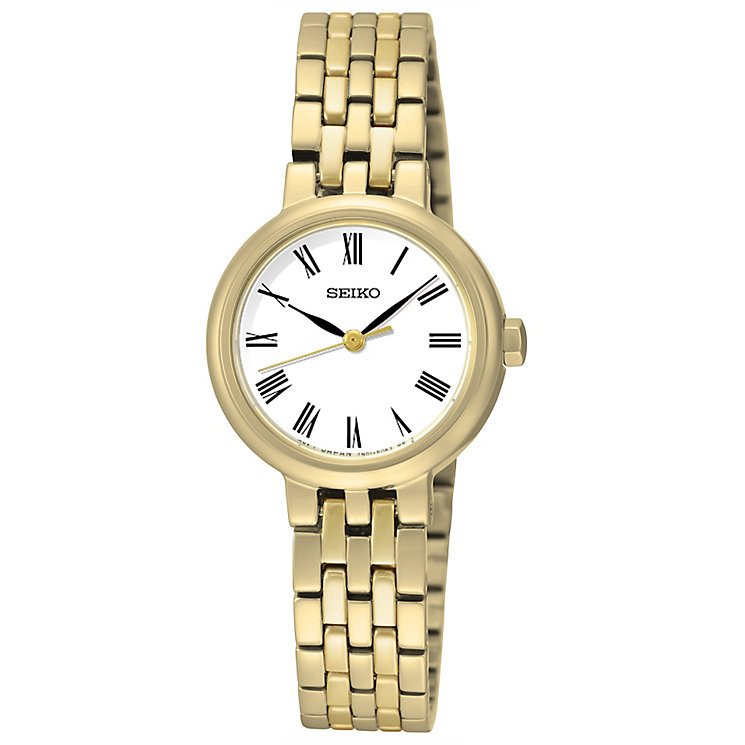 Seiko Ladies' Gold Plated Bracelet Watch - Product number 4912330
