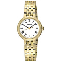 Seiko Conceptual Ladies' Gold Plated Bracelet Watch - Product number 4912330