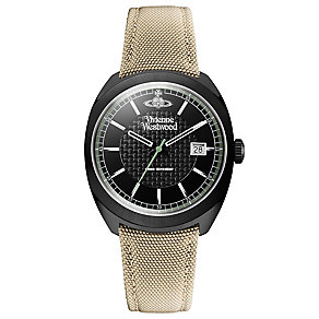 Vivienne Westwood Men's Ion Plated Black Strap Watch - Product number 4913124