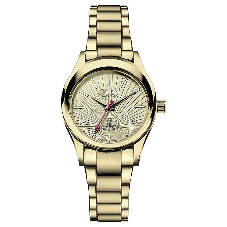 Vivienne Westwood Ladies' Gold Tone Bracelet Watch - Product number 4913248
