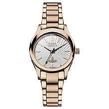 Vivienne Westwood Ladies' Rose Gold Tone Bracelet Watch - Product number 4913280