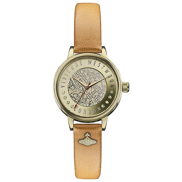 Vivienne Westwood Ladies' Gold Tone Strap Watch - Product number 4913337