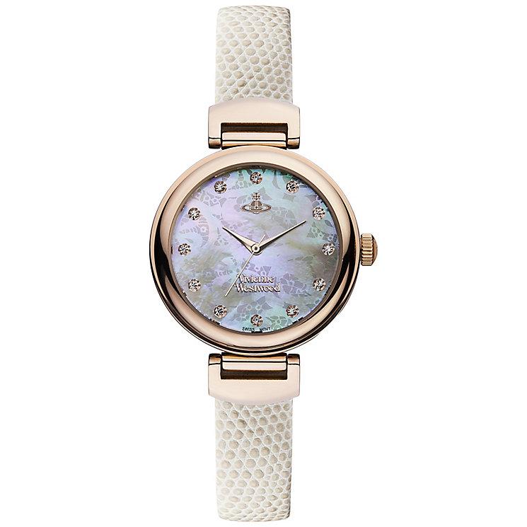 Vivienne Westwood Ladies' Rose Gold Tone Strap Watch - Product number 4913418