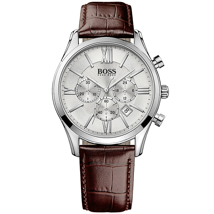 Hugo Boss Men's Stainless Steel Strap Watch - Product number 4913434