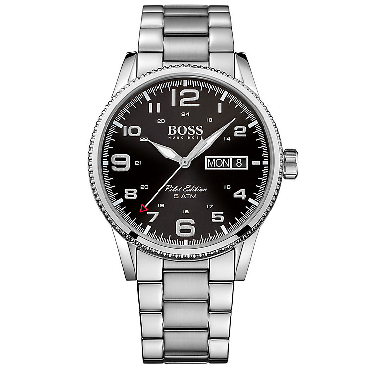 Hugo Boss Men's Stainless Steel Bracelet Watch - Product number 4913736