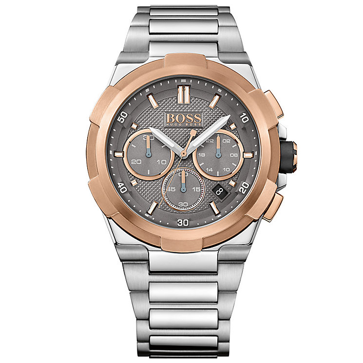 Hugo Boss Men's Two Colour Bracelet Watch - Product number 4913965