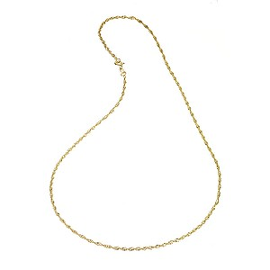 9ct Yellow Gold Singapore Necklace