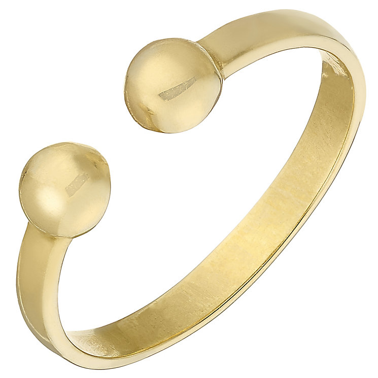 9ct Yellow Gold Torque Toe Ring - Product number 4914643