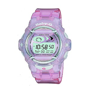 Girls`Casio Baby-G Pink Watch