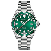 Certina DS Action Men's Stainless Steel Bracelet Watch - Product number 4916492