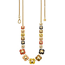 Orla Kiely Multi Coloured Long Flower Necklace - Product number 4918371