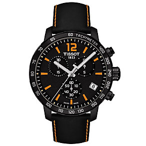 Tissot Men's Ion Plated Black Strap Watch - Product number 4920775