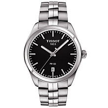 Tissot Men's Stainless Steel Black Bracelet Watch - Product number 4921437
