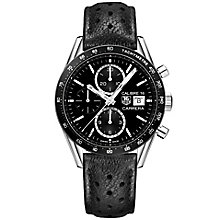 TAG Heuer Carrera Men's Stainless Steel Strap Watch - Product number 4921496