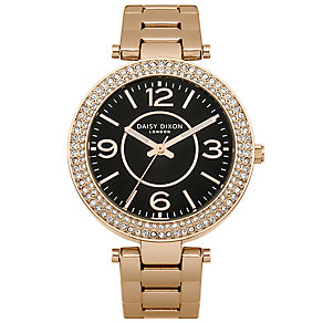 Daisy Dixon Arabella Ladies' Rose Gold-Plated Bracelet Watch - Product number 4922352