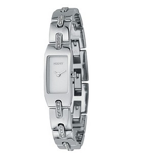 DKNY ladies' stainless steel Swarovski crystal bangle watch - Product number 4923332