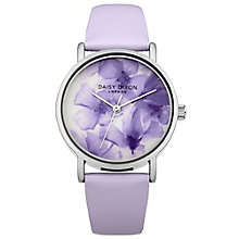 Daisy Dixon Sienna Ladies' Lilac Leather Strap Watch - Product number 4923537
