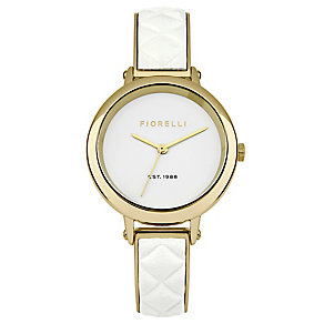 Fiorelli Lades White Bangle Watch With White Dial - Product number 4924851