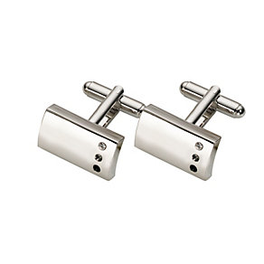 Graphite Three Crystal Cufflinks - Product number 4926498