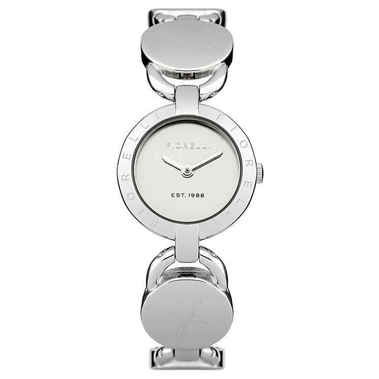 Fiorelli Ladies Silver Tone Bracelet Watch - Product number 4926803
