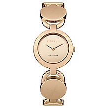 Fiorelli Ladies Rose Gold Tone Bracelet Watch - Product number 4926943
